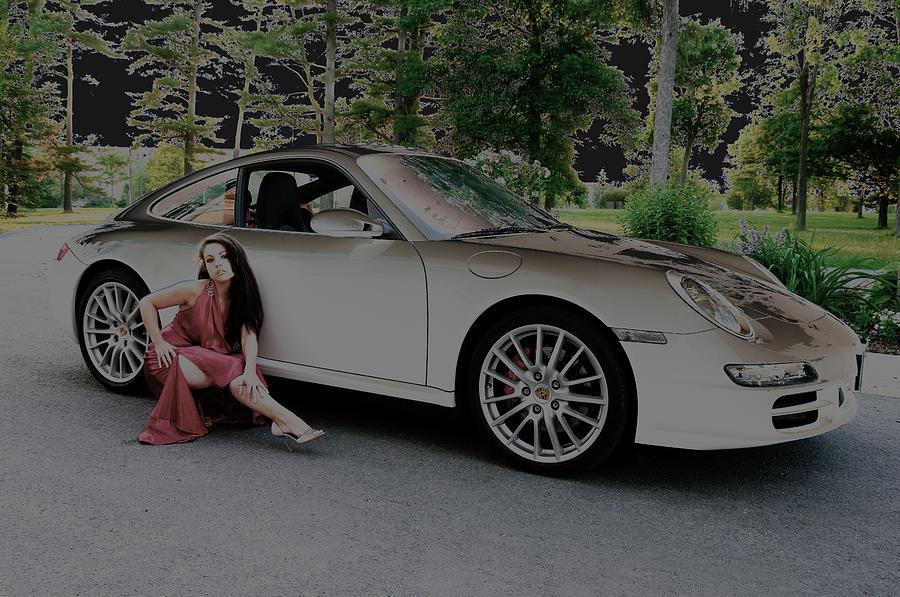 Car Photograph - Porsche Chromatic by Paul Wash