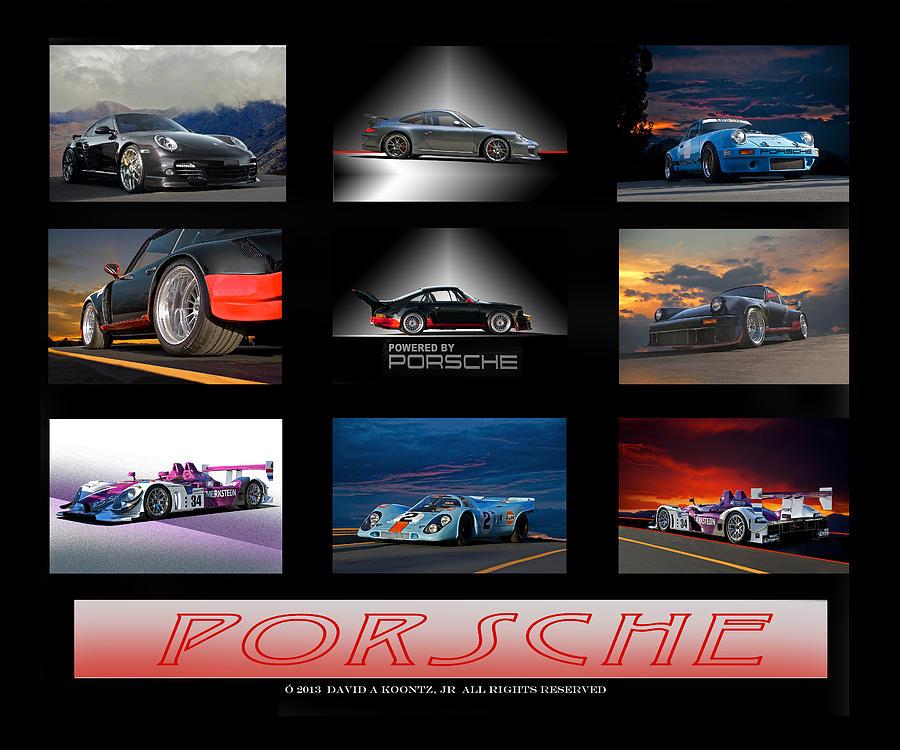 Porsche Display Photograph