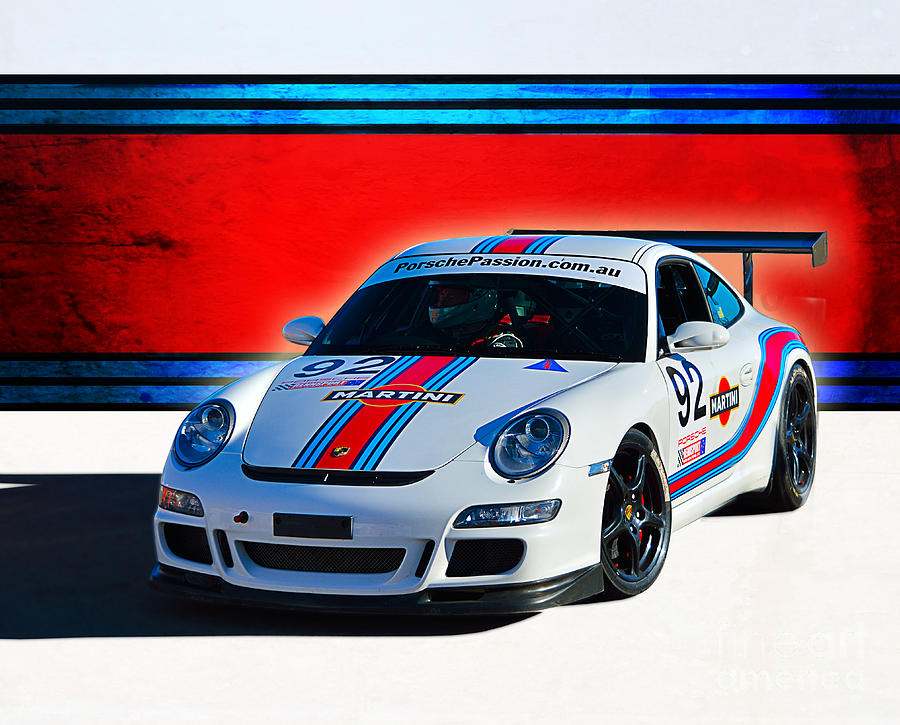 Porsche Gt3 Martini Photograph By Stuart Row