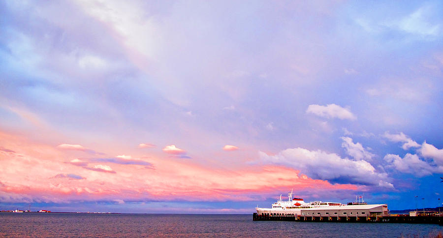 Port Angeles Sunset by Niels Nielsen
