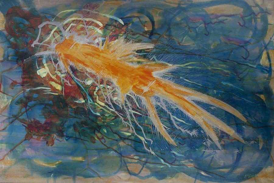 Port Aransas Painting - Port Aransas by Molly Benson