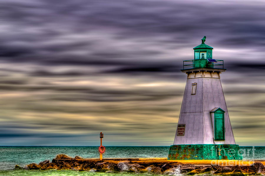 Beacon Photograph - Port Dalhousie Lighthouse by Jerry Fornarotto