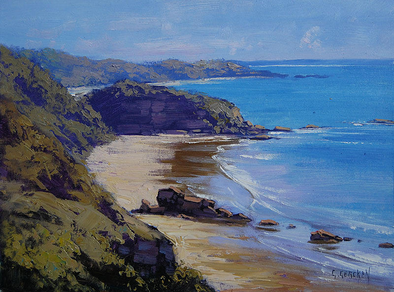 Port Macquarie Beach Painting