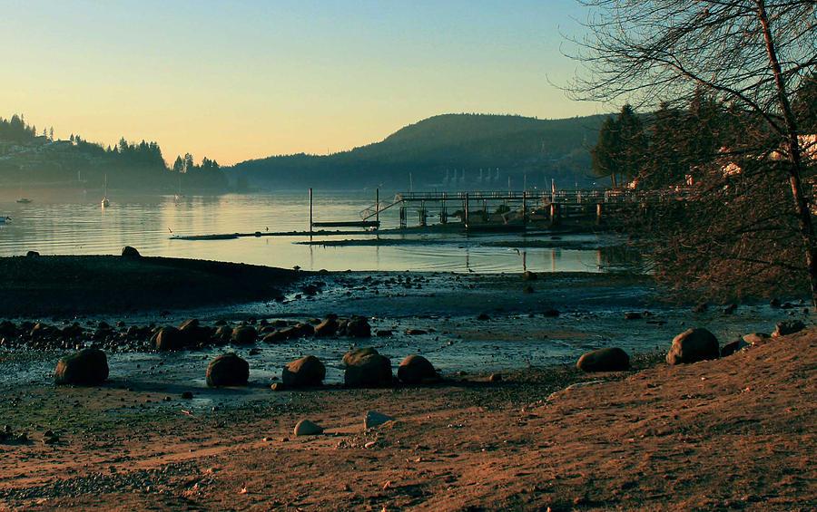 Rocky Point Inlet-Vintage by Stefan Kaertner