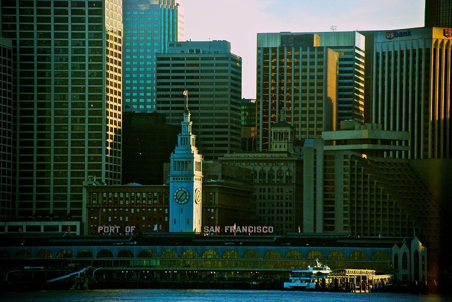 San Francisco Photograph - Port Of San Francisco by Eric Tressler