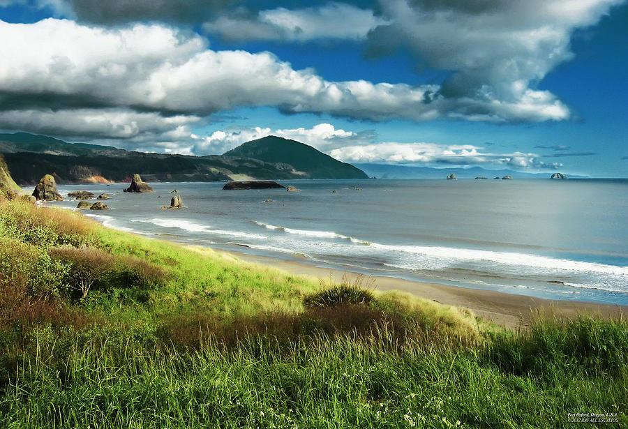 Beaches Photograph - Port Orford Oregon by Rafael Escalios