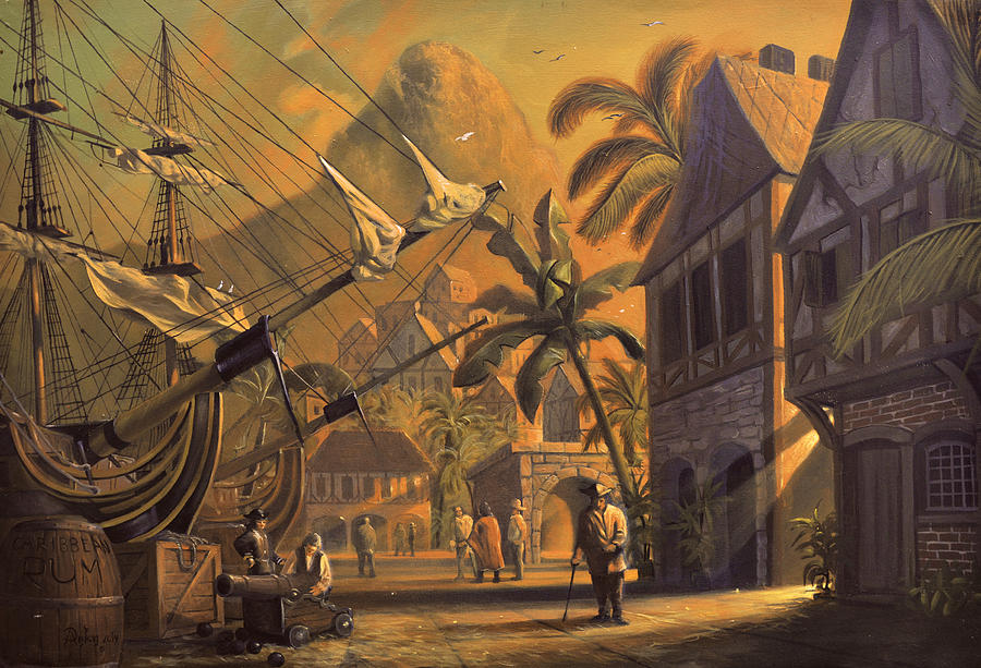 Port Royal Painting - Port Royal by A Prints
