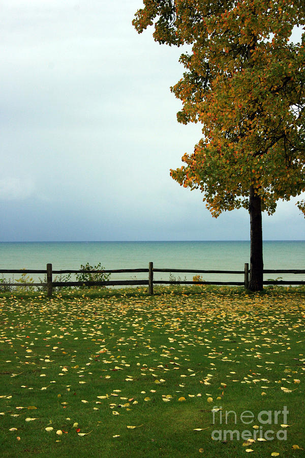 Port Sanilac Photograph - Port Sanilac Lookout, Michigan by Kathy DesJardins