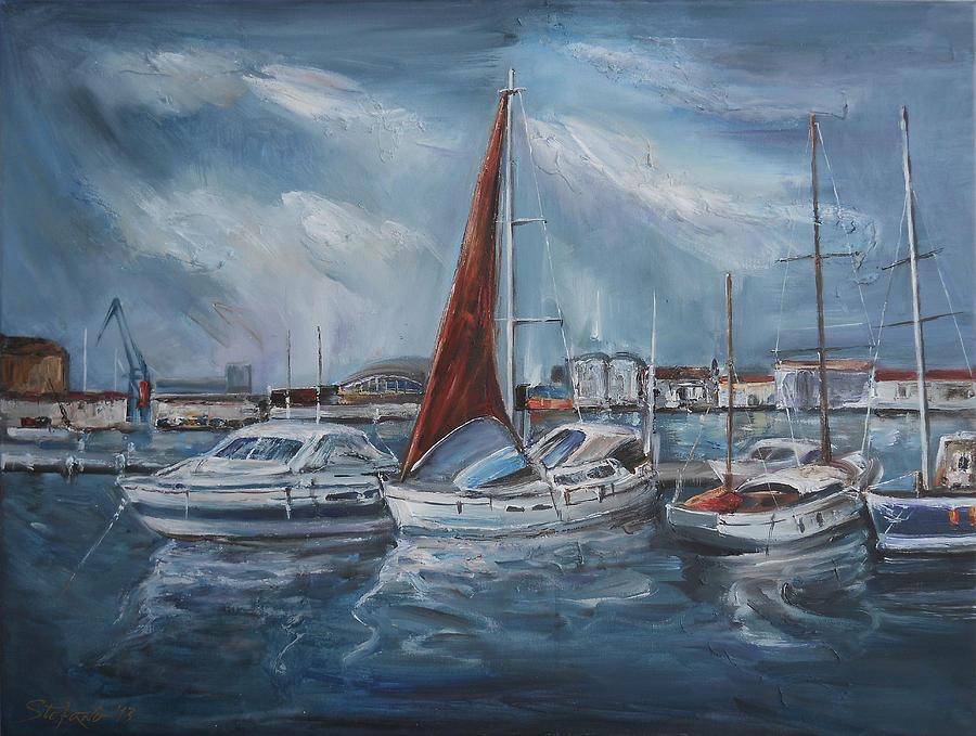 Port Digital Art - Port - Sunny Day by Stefano Popovski
