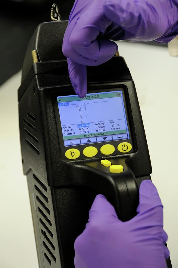 Equipment Photograph - Portable Chemical Detector by Food & Drug Administration