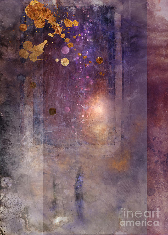 Abstract Digital Art - Portal by MGL Meiklejohn Graphics Licensing