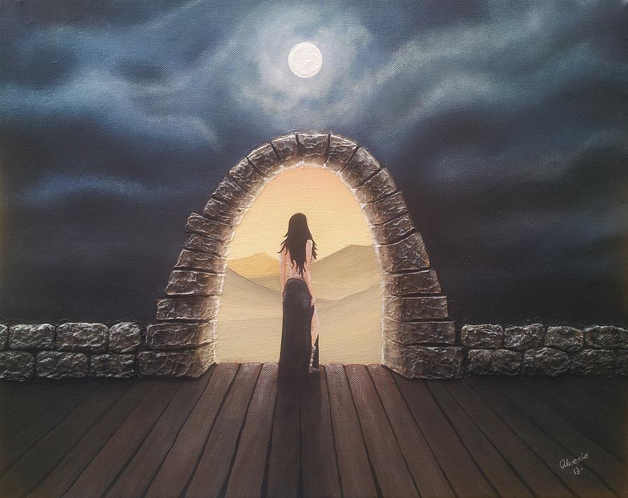 Portal Painting - Portal by Edwin Alverio