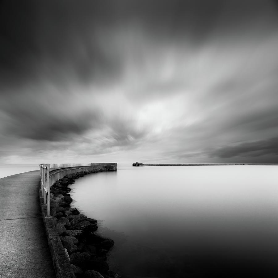 Pier Photograph - Portal by Mats Reslow