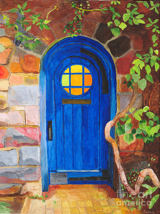 Door Painting - Portal by Rodney Campbell
