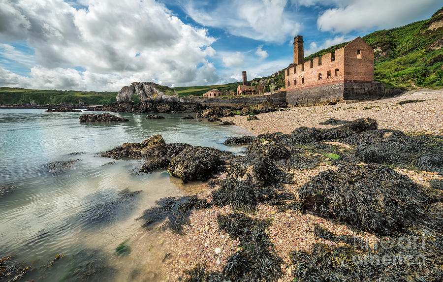 Anglesey Photograph - Porth Wen Brickworks by Adrian Evans