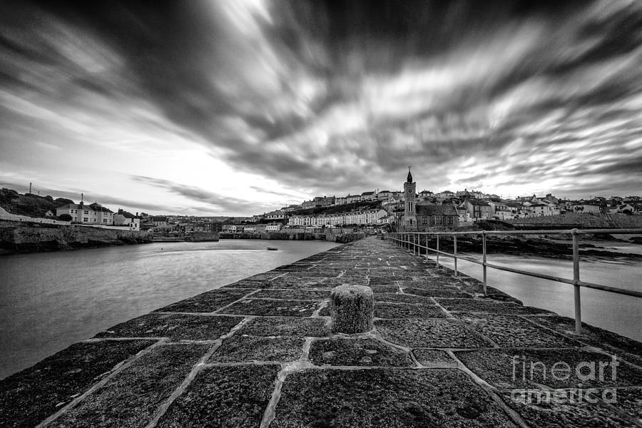 Cornish Photograph - Porthleven Pier by John Farnan