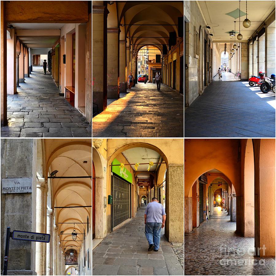 Porticos Of Padua No 1 Photograph