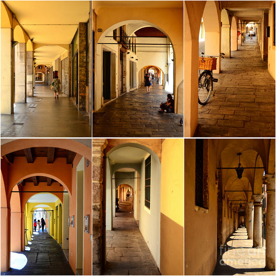Porticos Of Padua No 2 Photograph