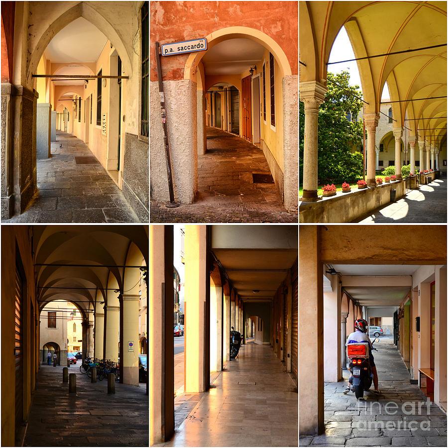 Porticos Of Padua No 4 Photograph