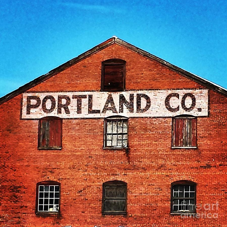 Portland Company Building Photograph by Samantha Baker