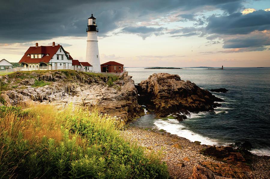 Portland Head Light - Cape Elizabeth Photograph by Doug Van Kampen, Van Kampen Photography