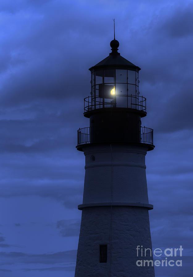 Portland Head Lighthouse Silhouette Photograph
