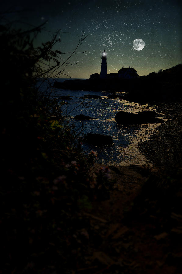 Portland Head Lighthouse Photograph - Portland Shines by Emily Stauring