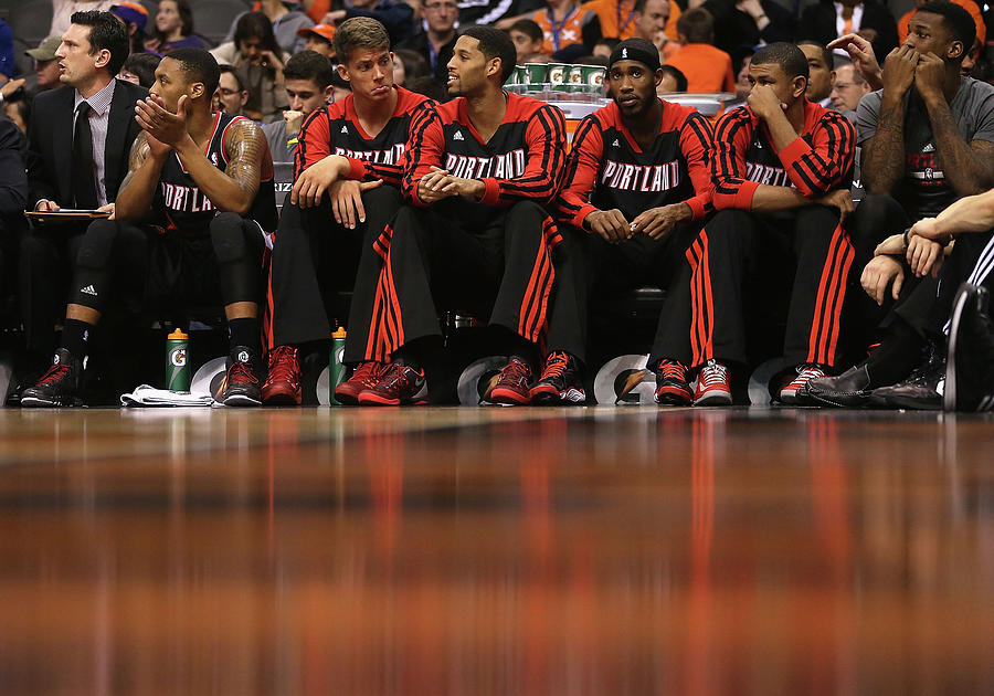 Portland Trail Blazers V Phoenix Suns Photograph by Christian Petersen
