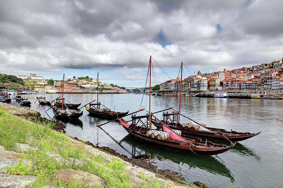 Porto Cityscape Photograph by Vuk8691