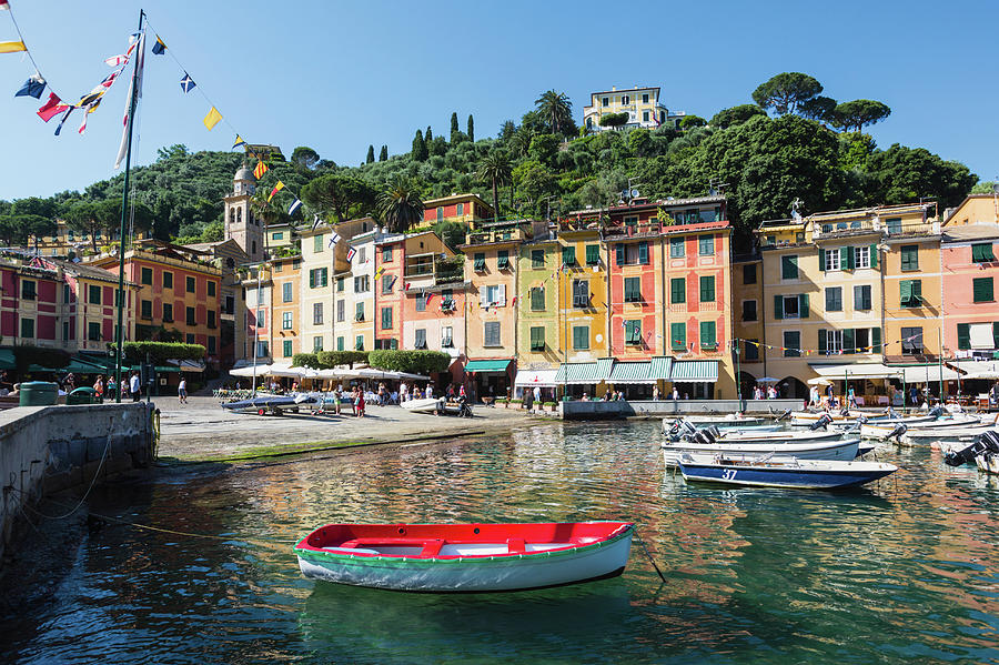 Horizontal Photograph - Portofino, Genoa Province, Italian by Panoramic Images