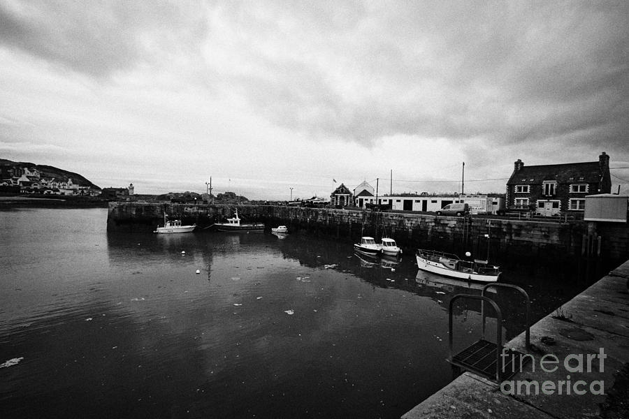 Portpatrick Photograph - Portpatrick Harbour Scotland Uk by Joe Fox