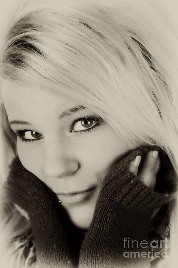 Portrait Photograph - Portrait 1 by Pit Hermann
