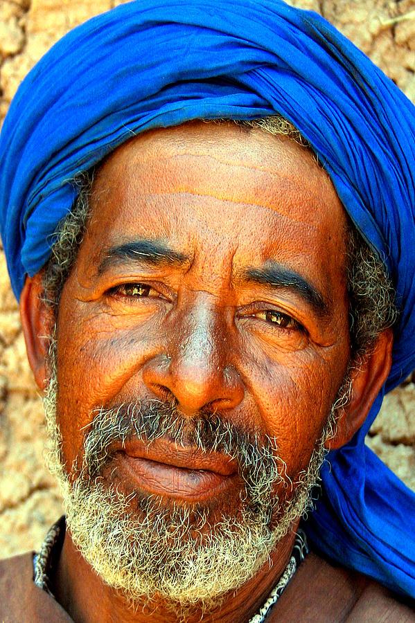 Berber Man Photograph - Portrait Of A Berber Man  by PIXELS  XPOSED Ralph A Ledergerber Photography