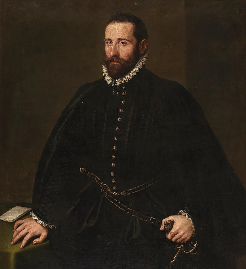 Cinquecento Painting - Portrait Of A Gentleman by Tintoretto