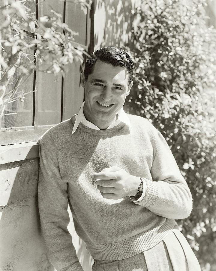 Portrait Of Actor Cary Grant Photograph by George Hoyningen-Huene