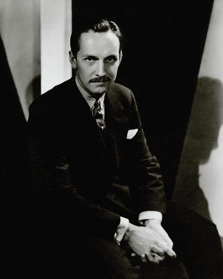 Portrait Of Actor Frederick March Photograph by Toni Von Horn