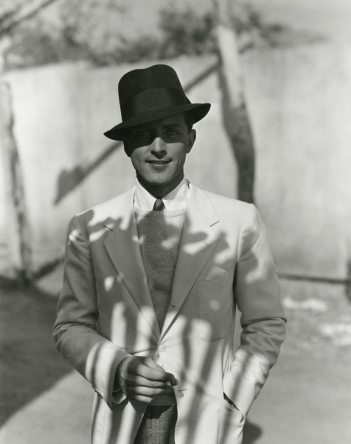 Portrait Of Actor Phillips Holmes Photograph by George Hoyningen-Huene