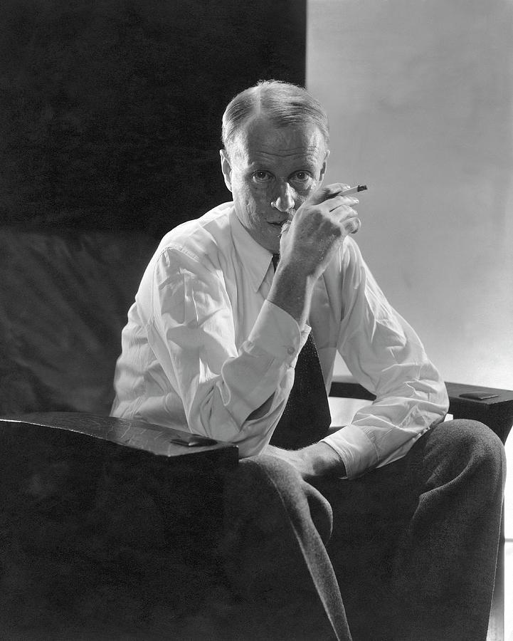 Portrait Of American Writer Sinclair Lewis Photograph by Edward Steichen