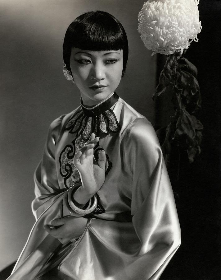 Portrait Of Anna May Wong Photograph by Edward Steichen