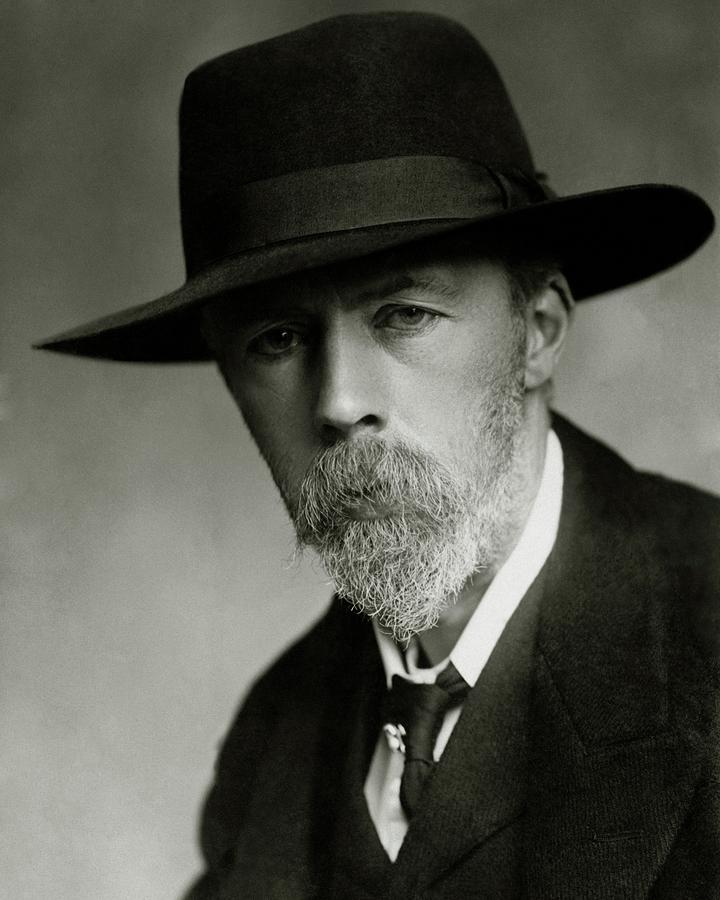 Portrait Of Arthur Symons Photograph by Elliott & Fry