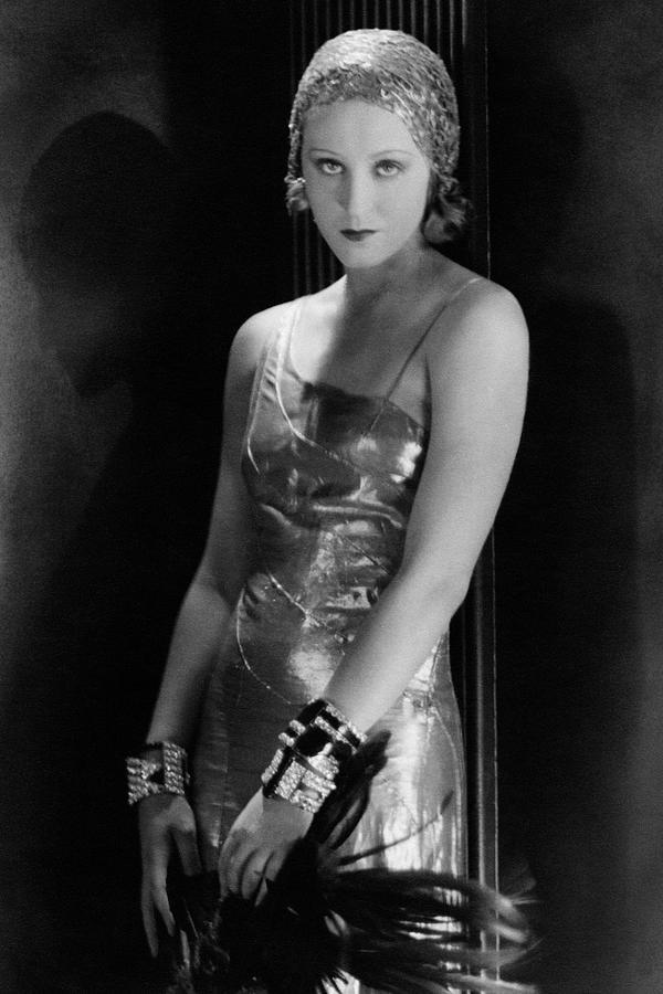 Portrait Of Brigitte Helm Photograph by George Hoyningen-Huene