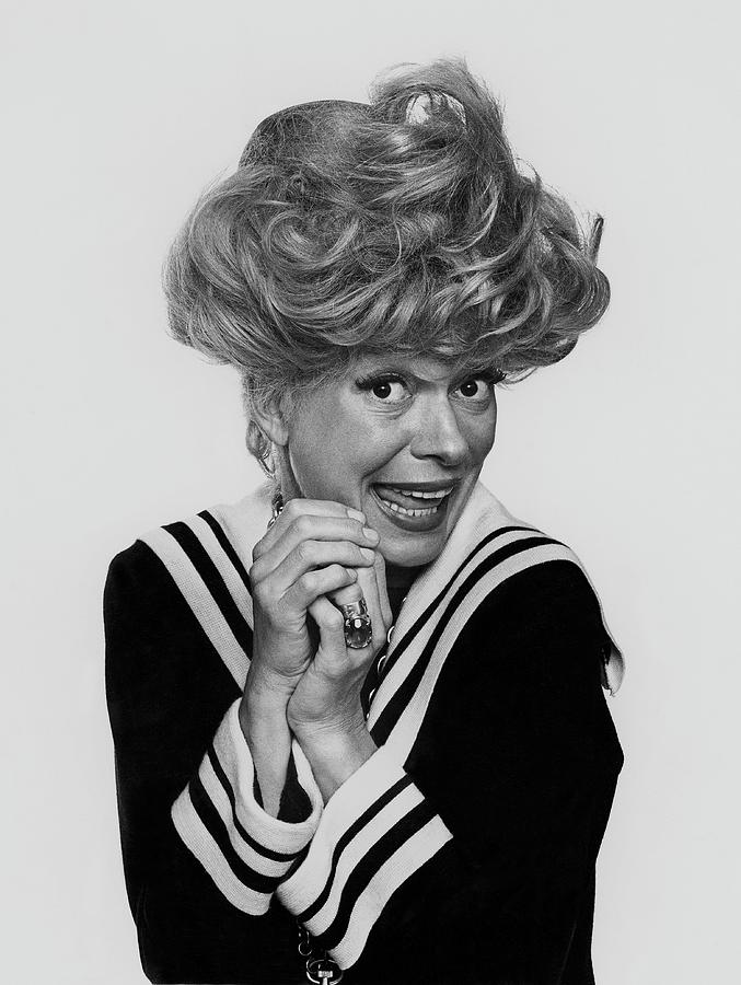 Portrait Of Carol Channing Photograph by Chadwick Hall