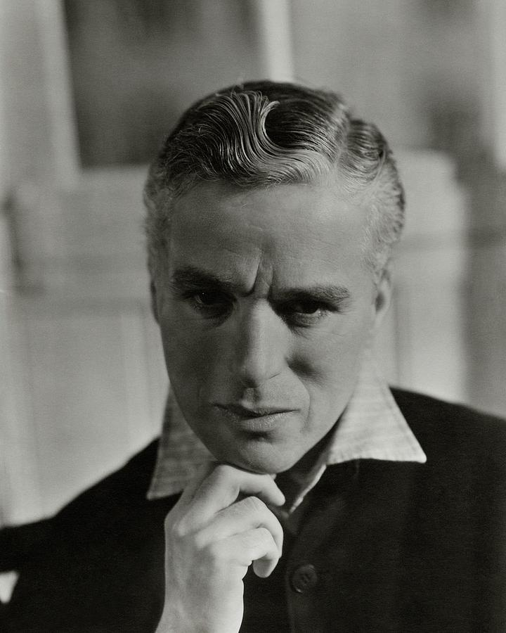 Portrait Of Charlie Chaplin Photograph by George Hoyningen-Huene