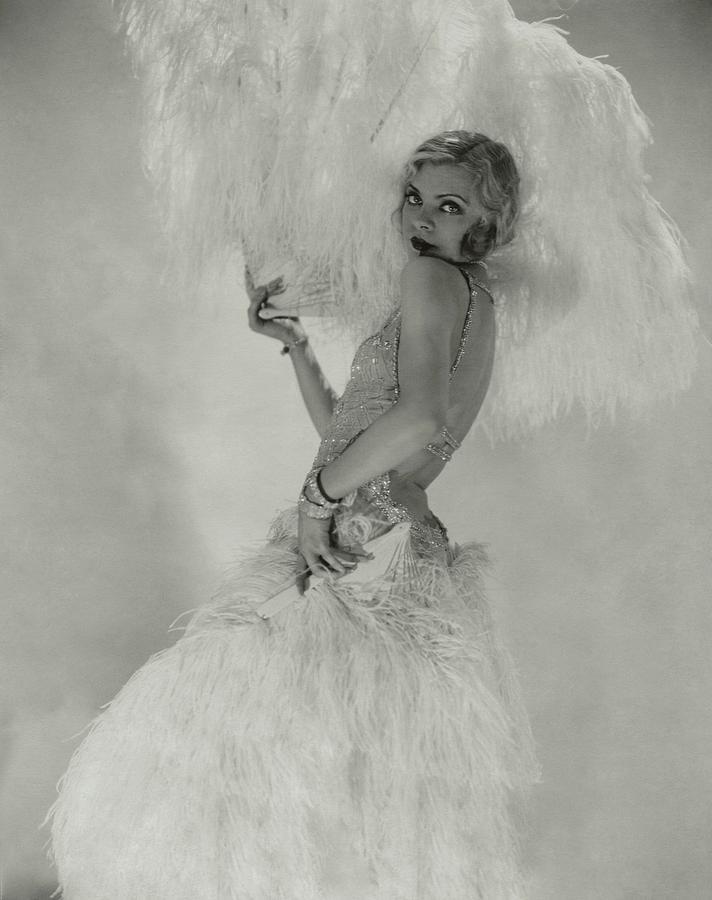 Portrait Of Claire Luce Photograph by Edward Steichen