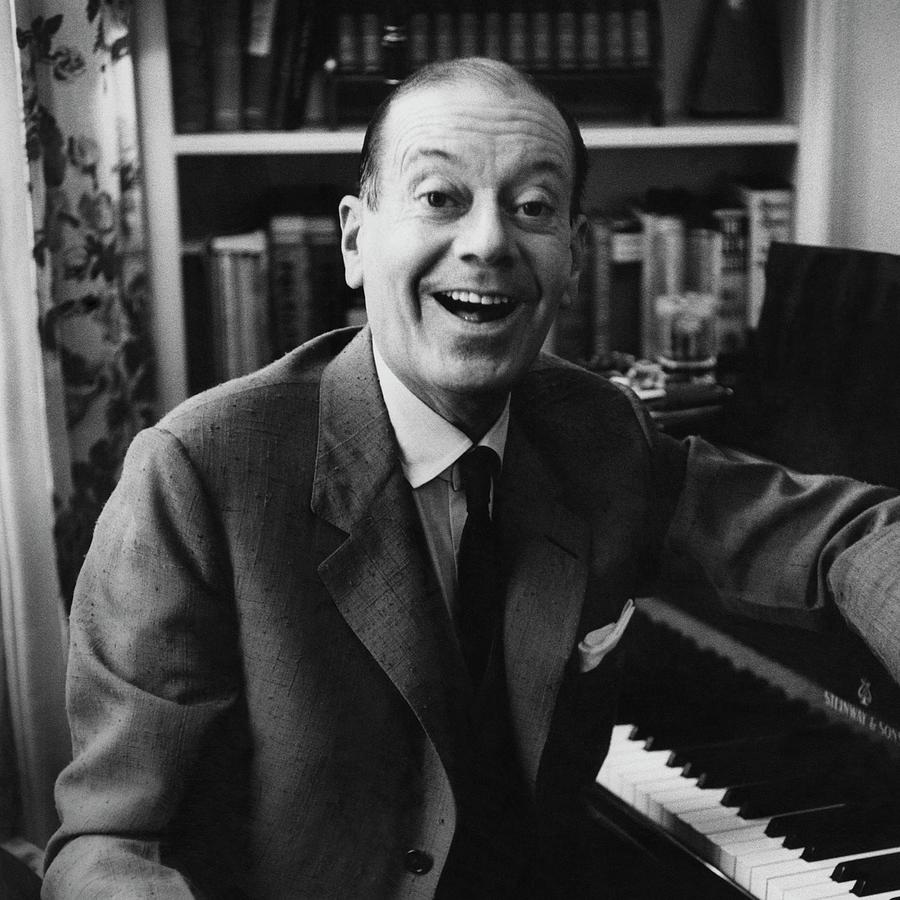 Portrait Of Cole Porter Sitting At His Piano Photograph by Frances Mclaughlin-Gill