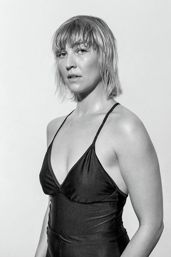 Portrait Of Confident Female Ballet Photograph by Luis Alvarez