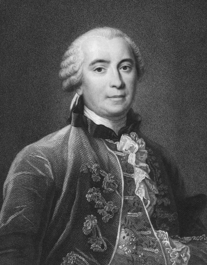 1750 Photograph - Portrait Of Count De Buffon by Underwood Archives