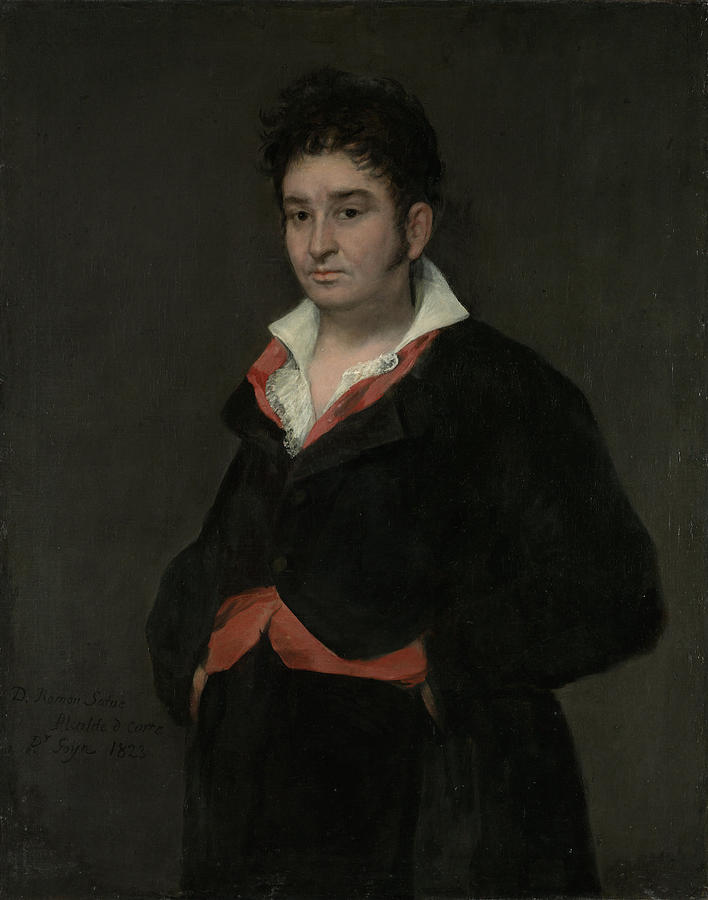 Portrait Drawing - Portrait Of Don Ramón Satué, 1765-1824 by Quint Lox