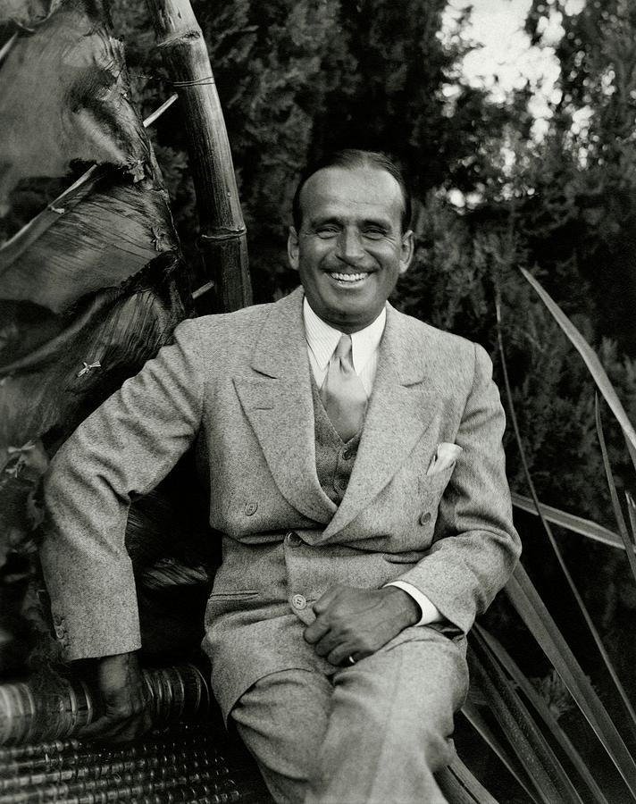 Portrait Of Douglas Fairbanks Jr Photograph by Edward Steichen