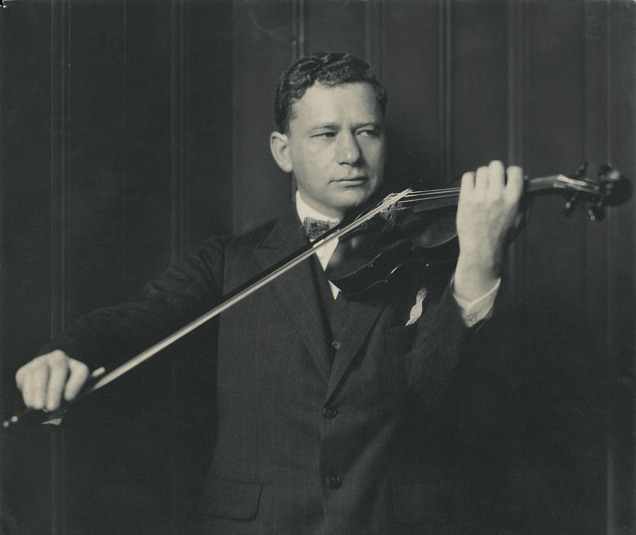 Portrait Of Efrem Zimbalist Photograph by Edward Steichen